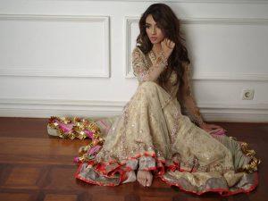 Misha Lakhani winter Party wear Dresses 2016 winter