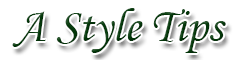 A style Tips | Beauty Fashion Clothing