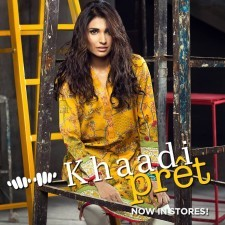 Khaadi Pret Winter Dresses Collection For 2016