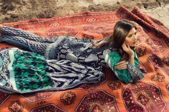 Sana Safinaz winter dresses for girls 2016