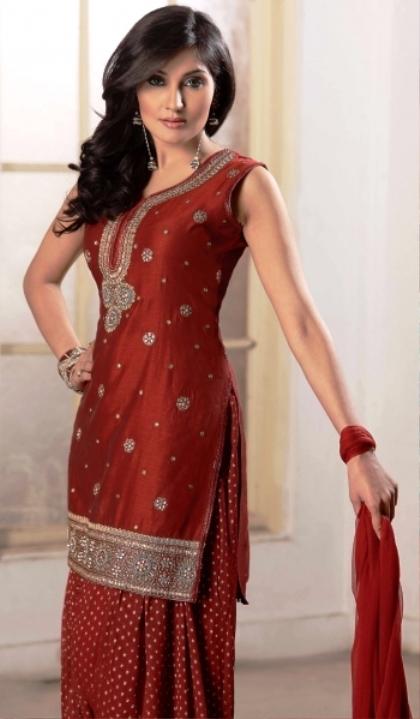 Best Indian Salwar Kameez for Wedding 2017