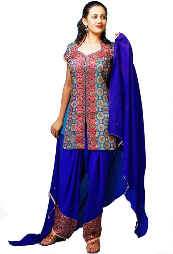 Crimson Indian Salwar Kameez for Girls