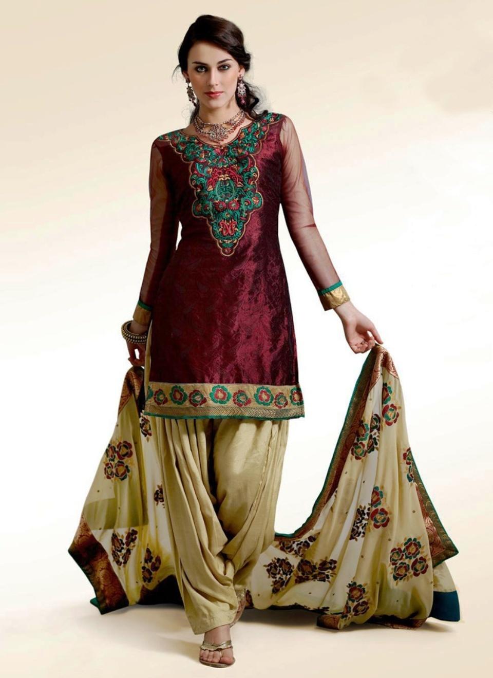 New Indian Shalwar Kameez Design For Girls