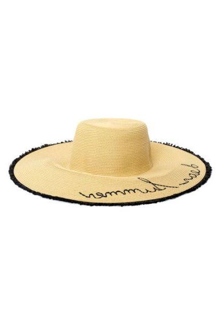 US FAShion trend straw hats
