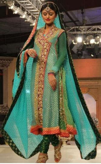 Latest Angrakha Style Dresses Designs