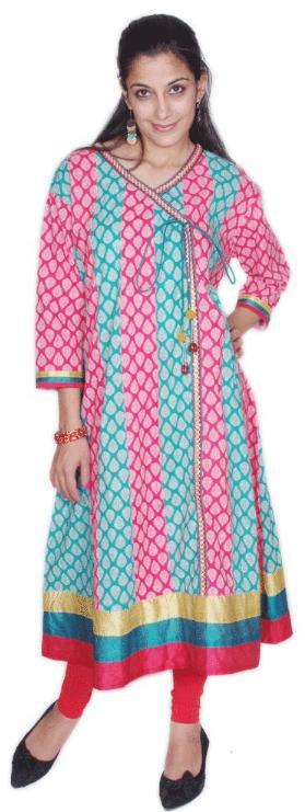 Stylish Angrakha Style