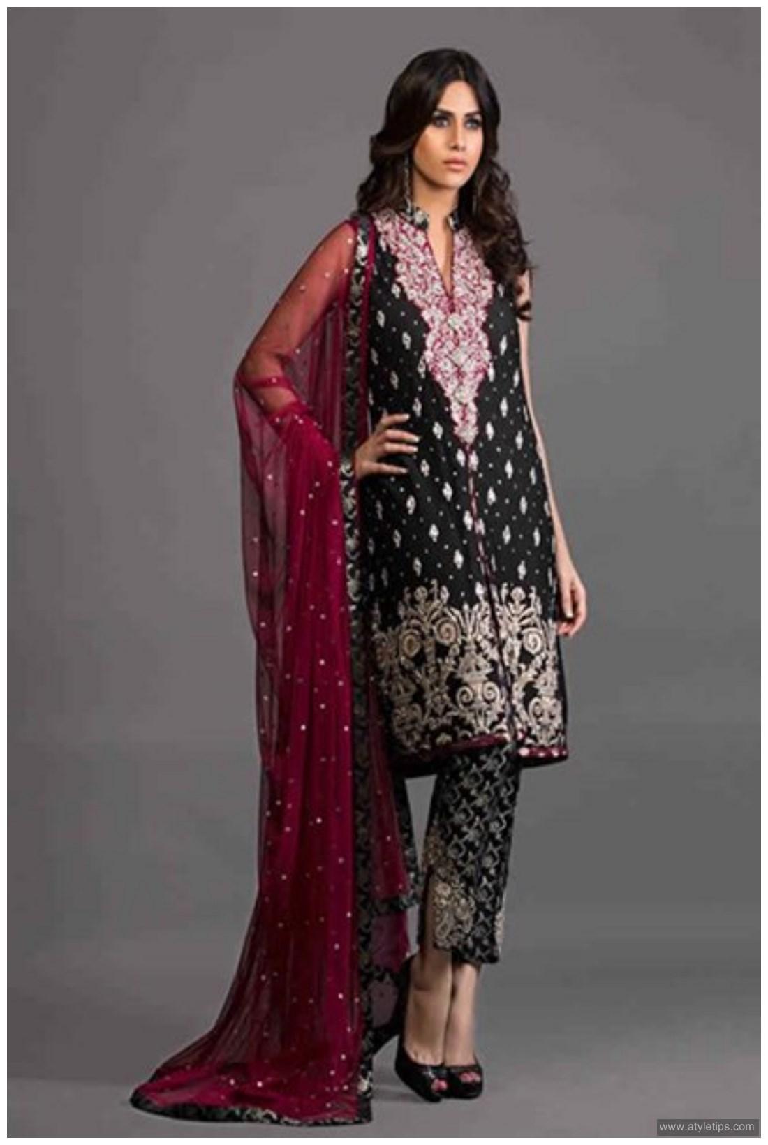 pakistani dresses 2017 party wear
