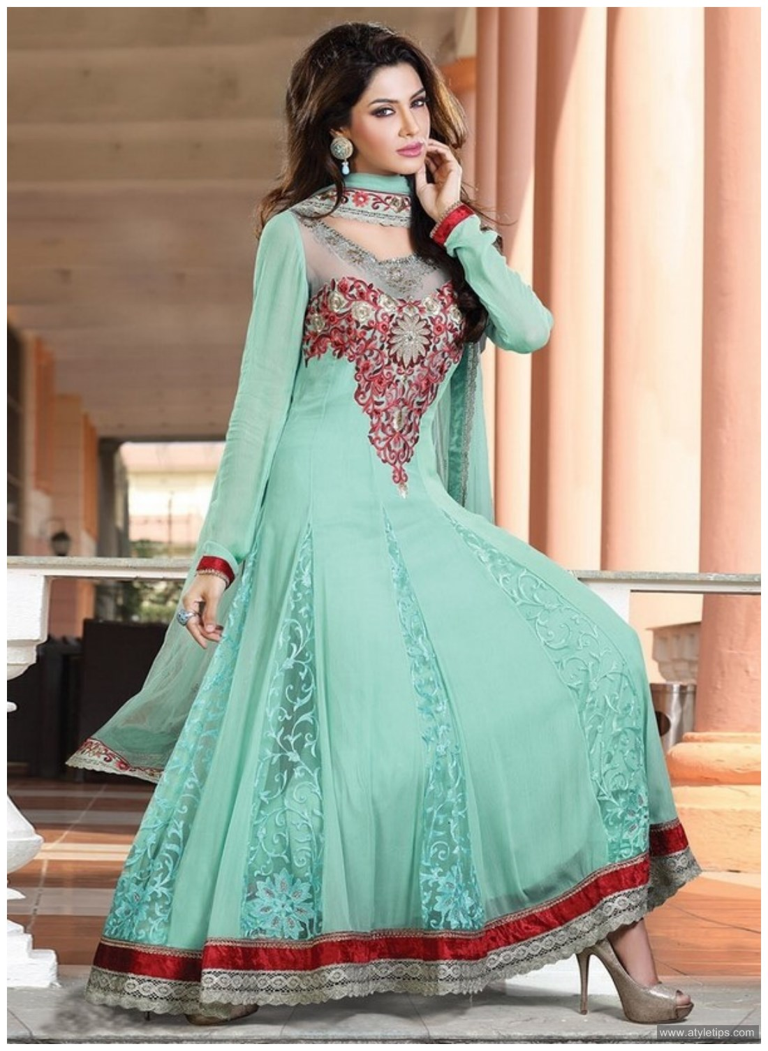 Cheap pakistani dresses design onlien