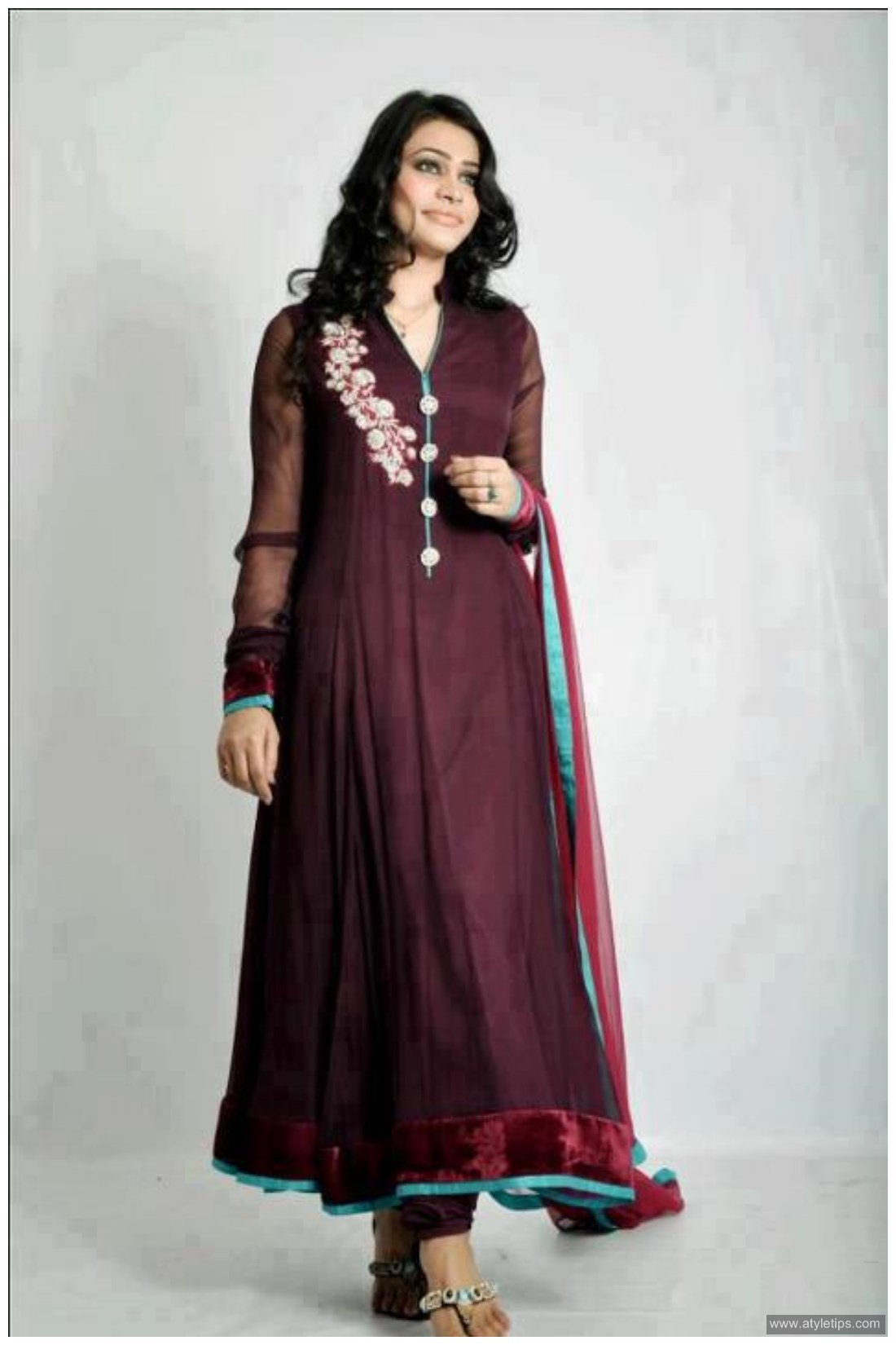 Beautiful pakistani dresses ideas for girls women a style tips Fashion style in pakistan 2013