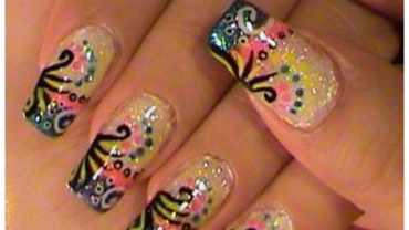 Stylish Acrylic Nail Art Designs 2017