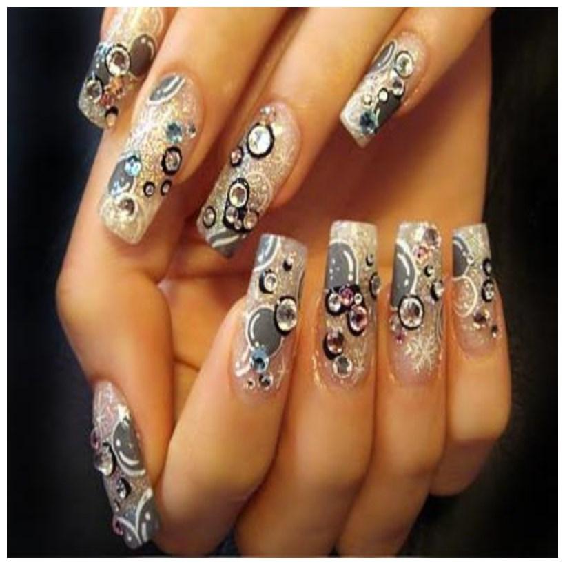Beautiful Acrylic Nail Fashion Designs