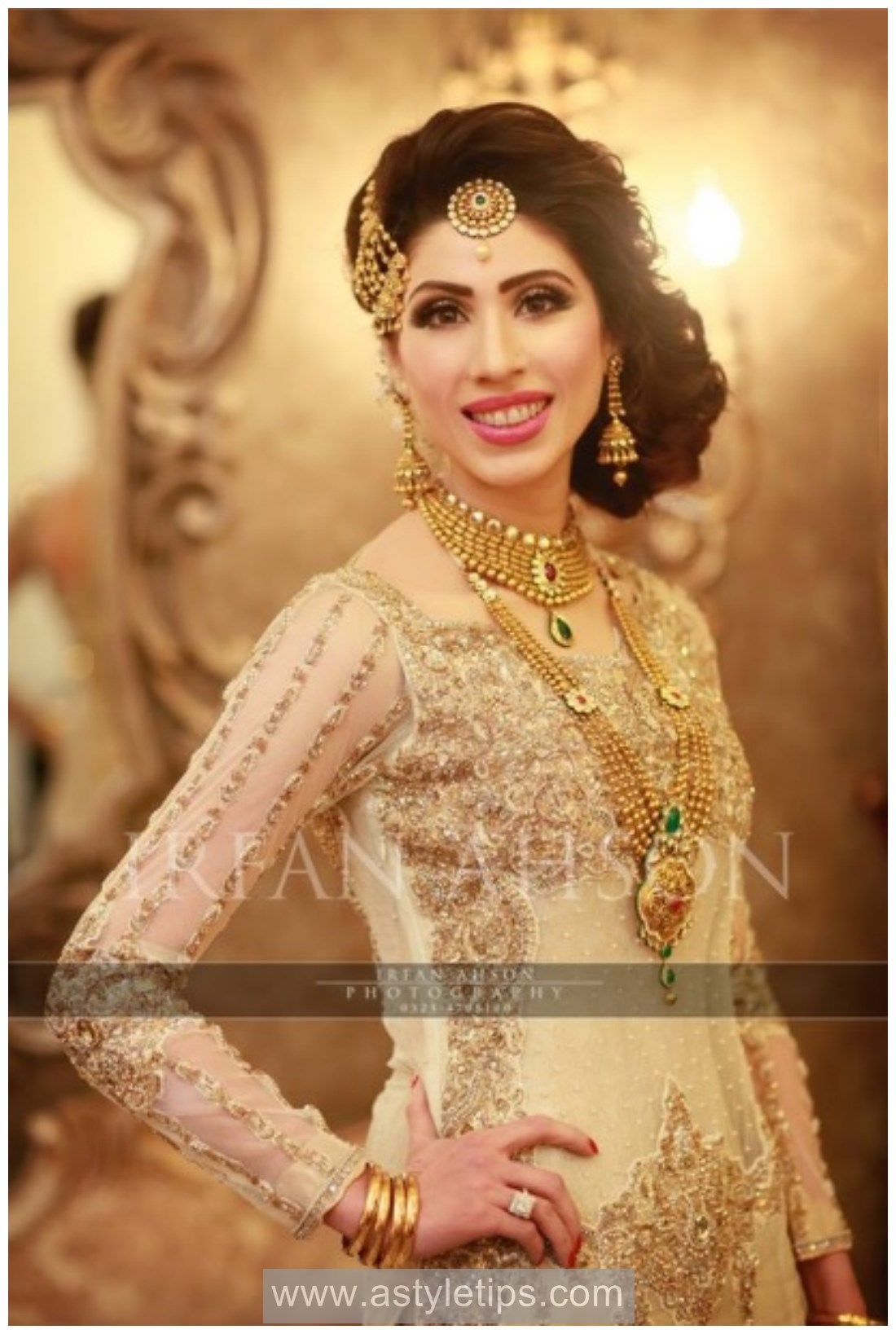 Shining Impressive Bridal suits For Nikkah