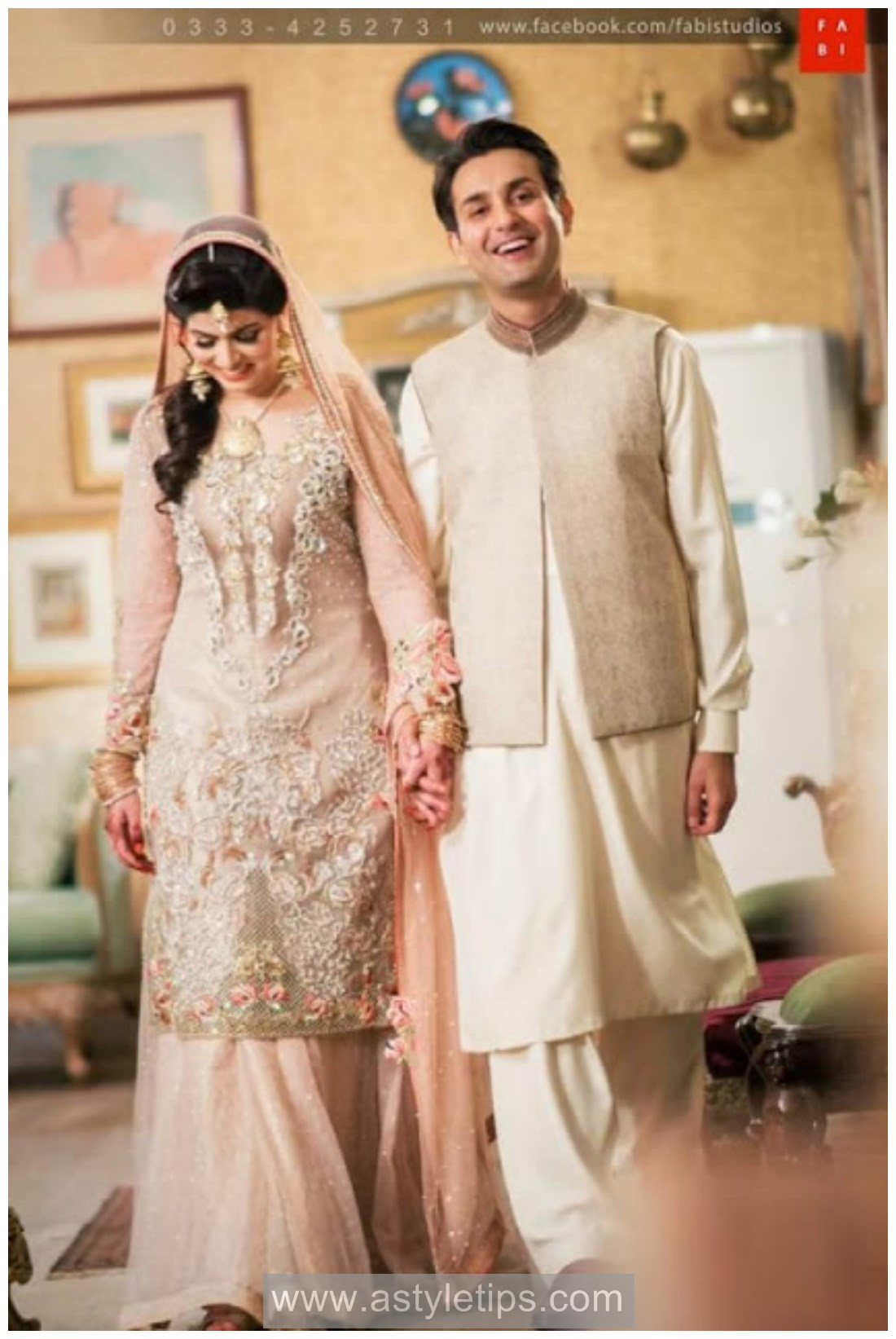 Best Nikkah Dresses Pakistan