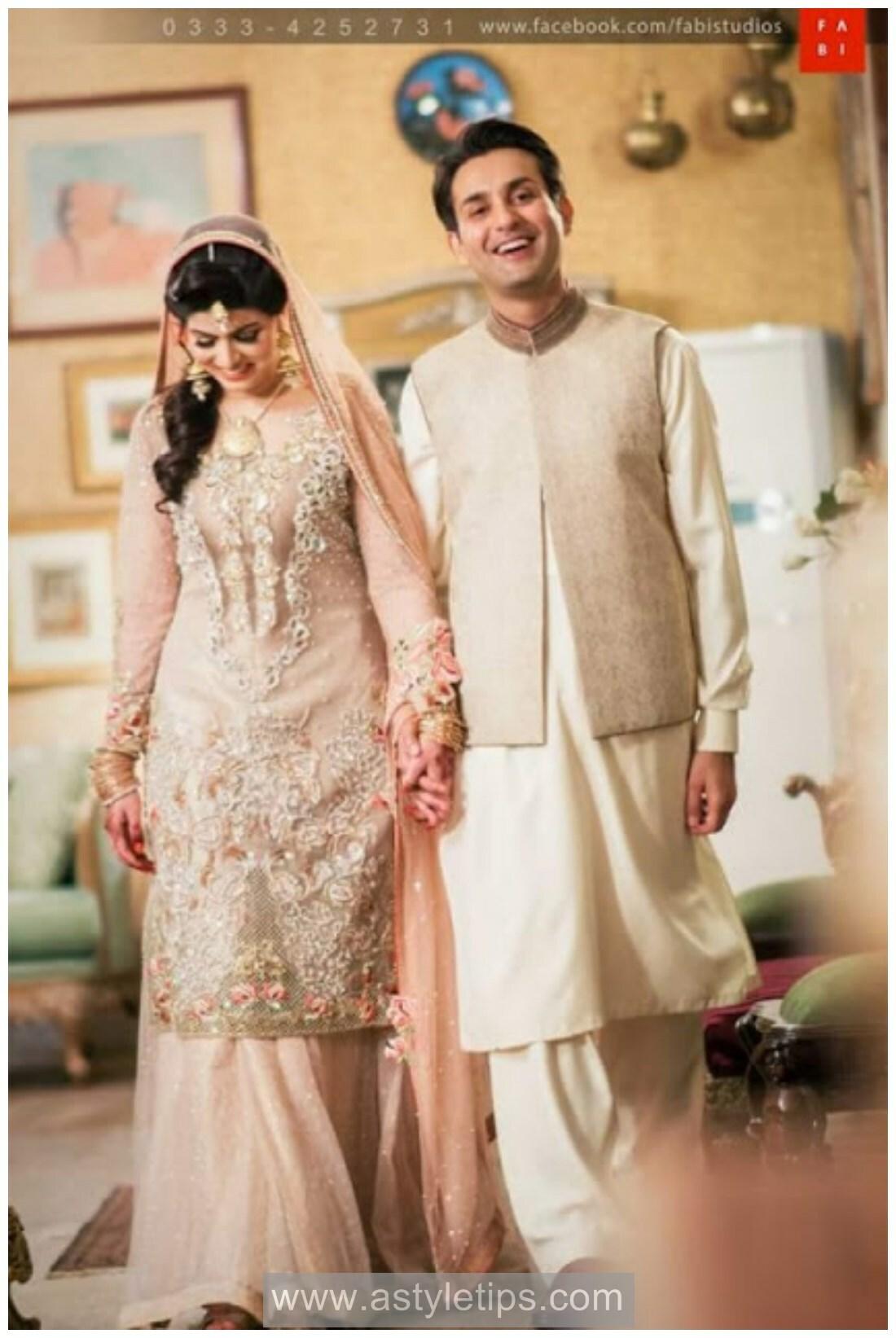 Best Nikkah Dresses Pakistan