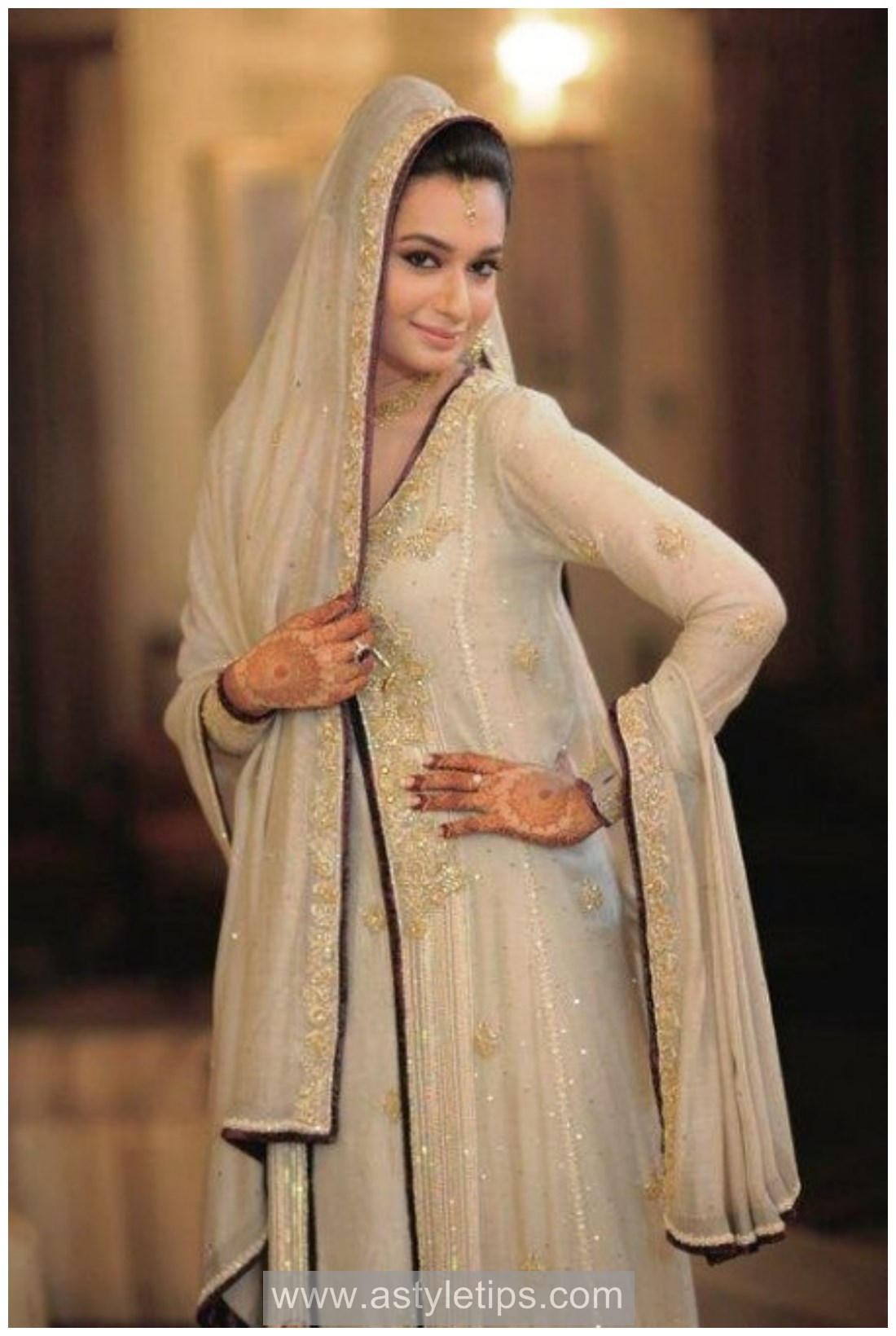 Bridal Nikah and engagement dresses