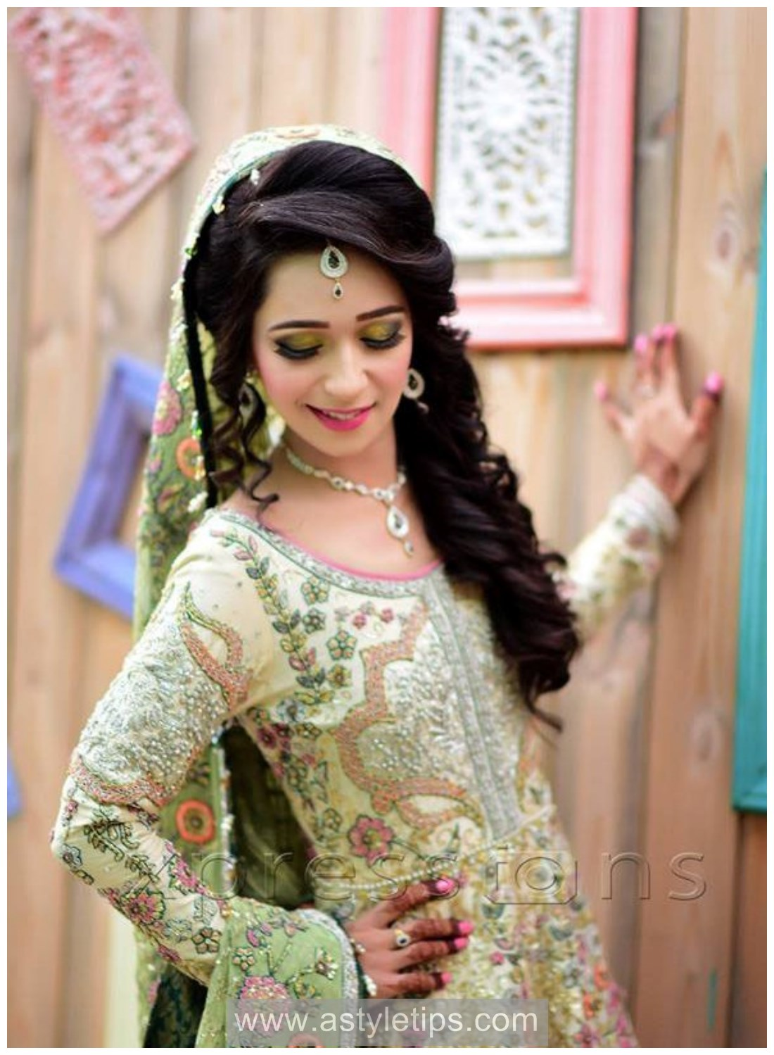 Impressive Bridal Dresses For Nikkah