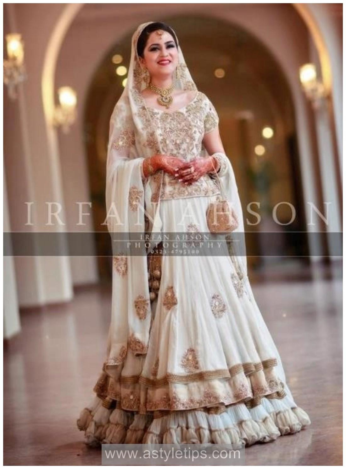 Pakistani Bridal Nikkah Dresses 2017