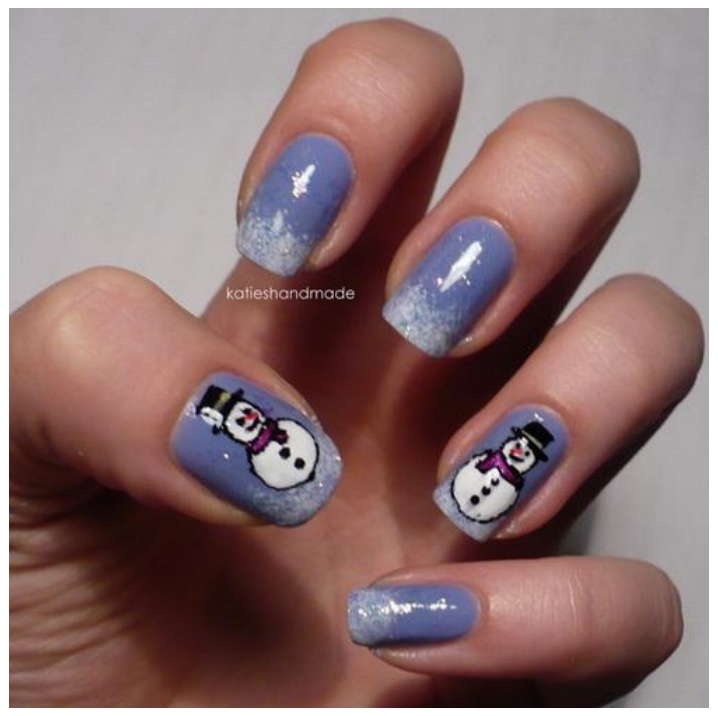 Coolest New Years Eve Nail Designs Photos