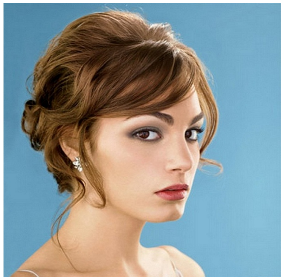 Best Romantic Hairstyle girls images 2017 for weddign