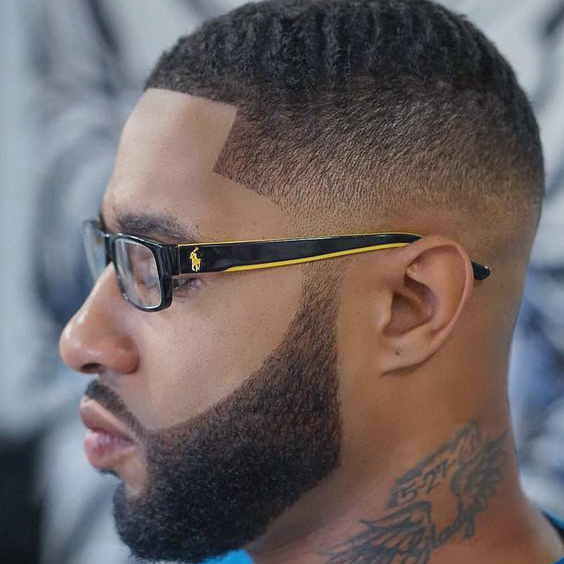 Drake Haircut Fade for Blacky