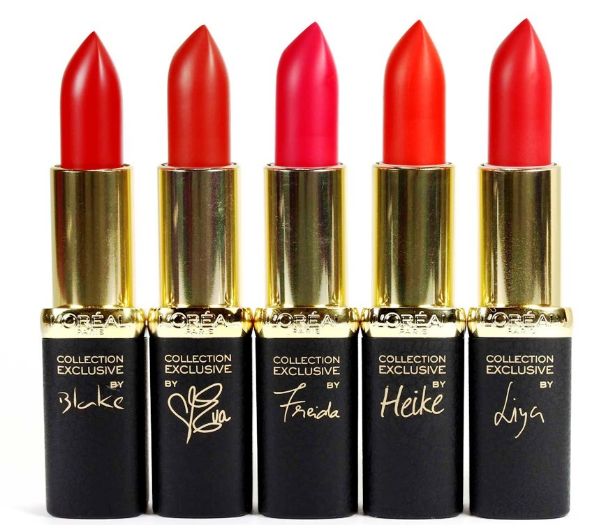 Red Lip Color & Lip Makeup