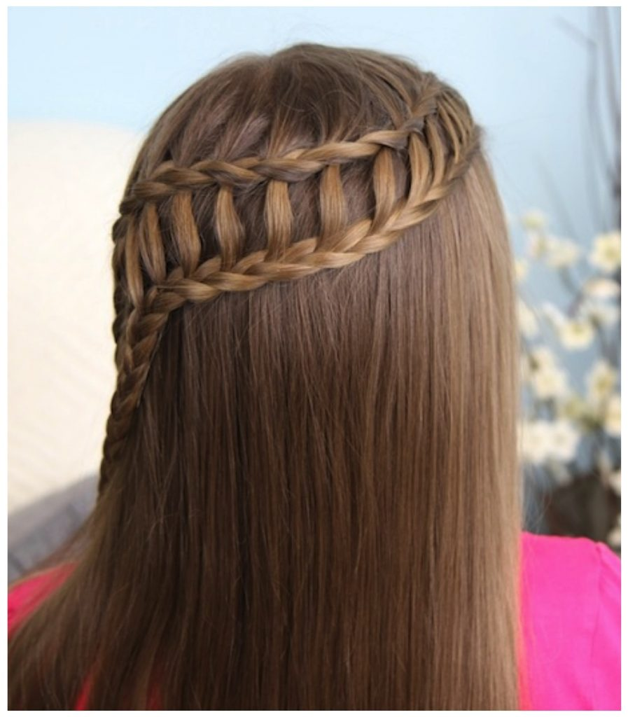 New The Waterfall Braid 2017 for Canada Girls