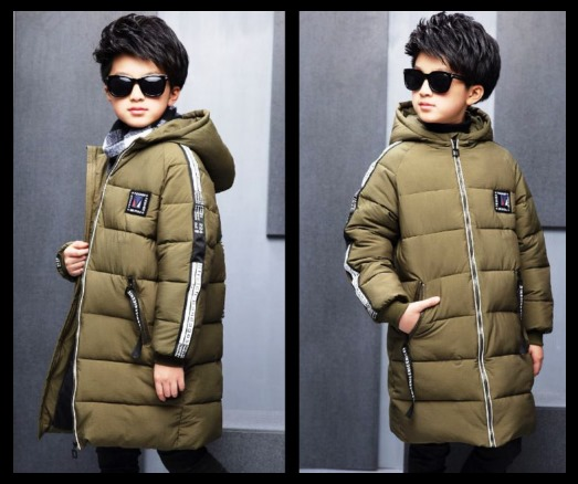 kids Hooded jacket with lettering