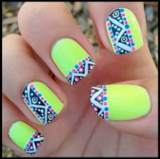 Beautiful Nail Art Designs Emblem Fashion