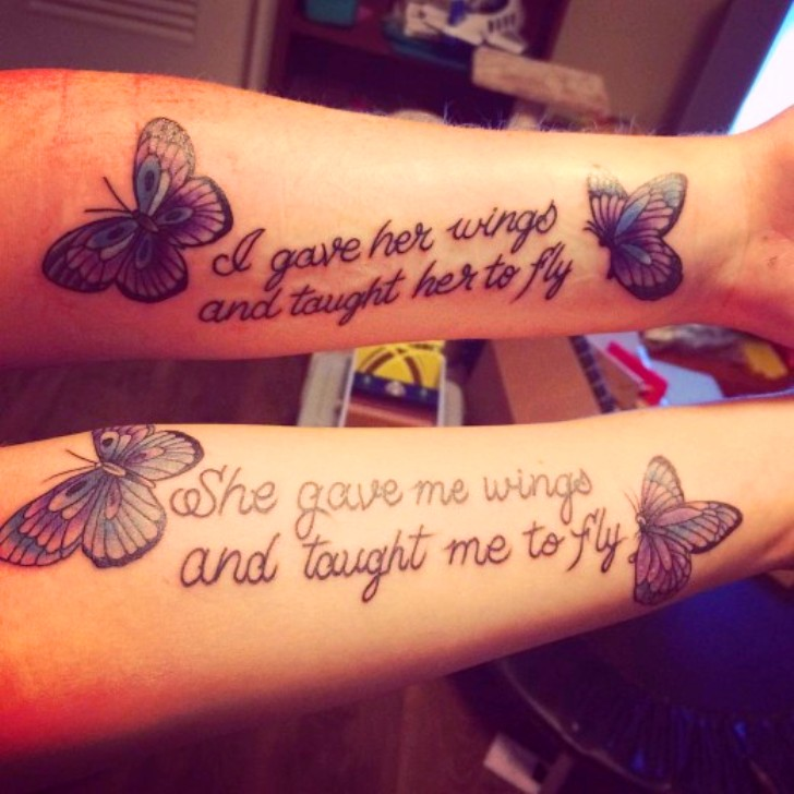 Mother Daughter Tattoos PicturesMother Daughter Tattoos Pinterest Images