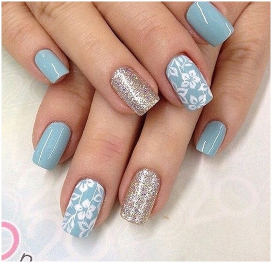 Newly Simple Nail Designs for Short Nails