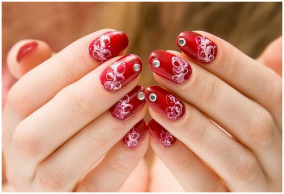 Pink 13 Easy Short Nail Designs Ideas in Quick Time