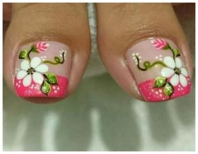 16 Beautiful Toe Nail Designs Pictures 2019