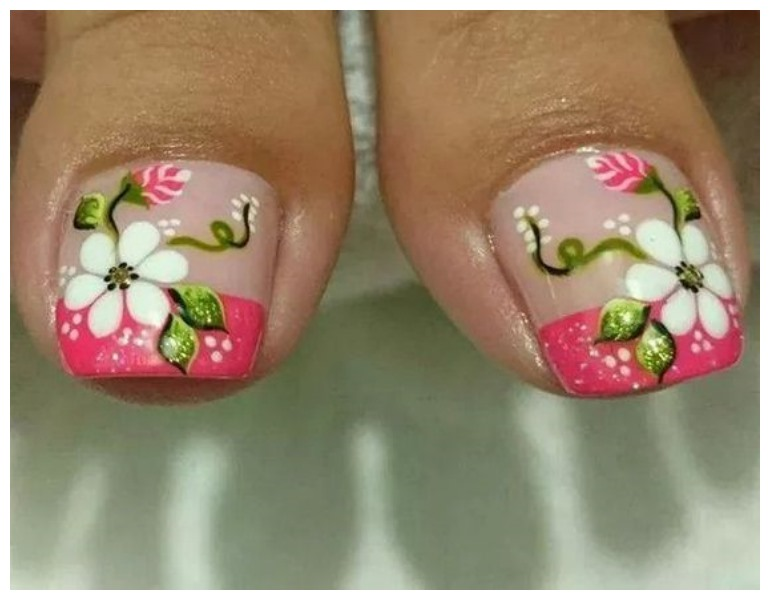 Both Toe Nails Art Designs 2017