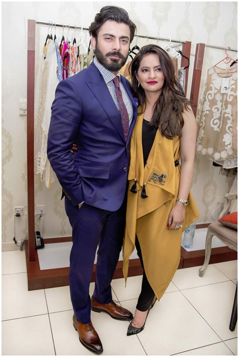 Fawad Khan brings wife's fashion line to Dubai