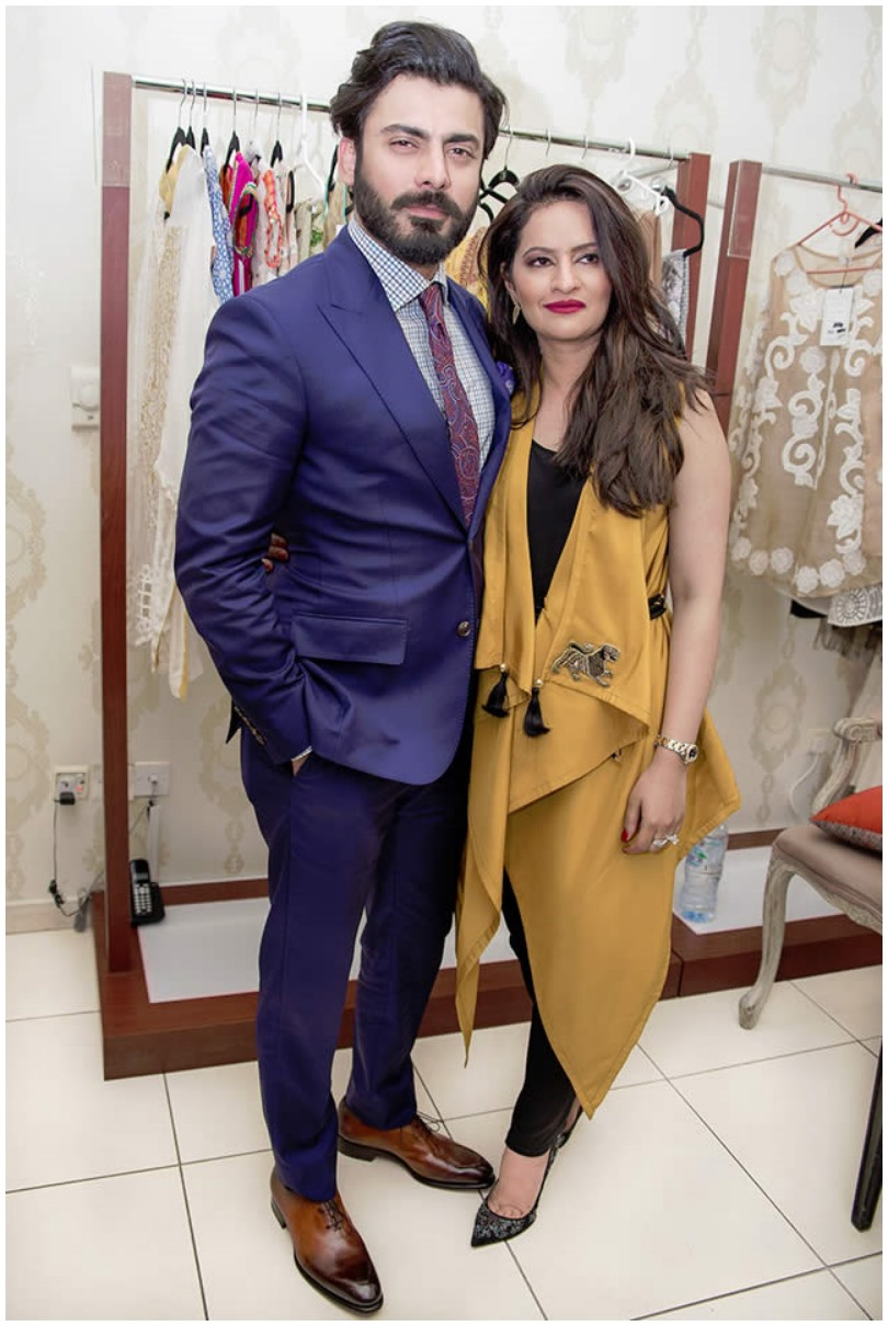 Fawad Khan brings wife's fashion line to Dubai