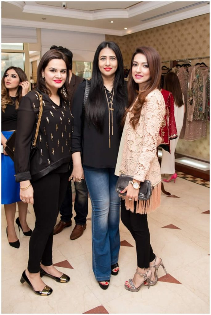 Fawad Khan with wife Sadaf at the exhibition of Silk by Fawad in dubai (1)