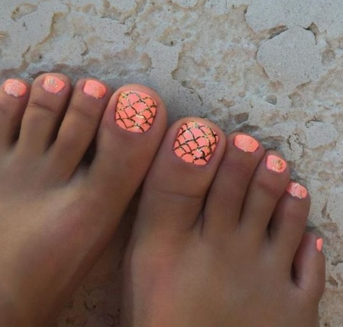 Summer Toe Nail Designs