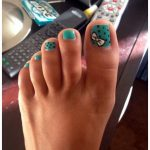 Toe Nails Art Designs Pictures