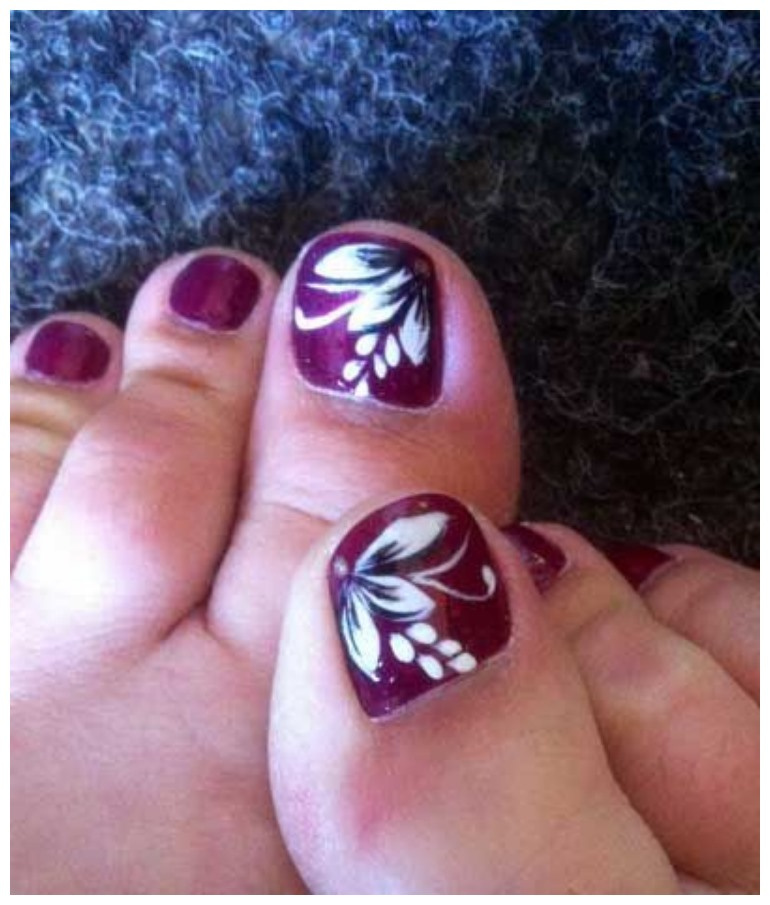 Toe Nail Designs Pictures