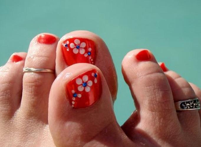 Toe Nail Art Designs Pics guids