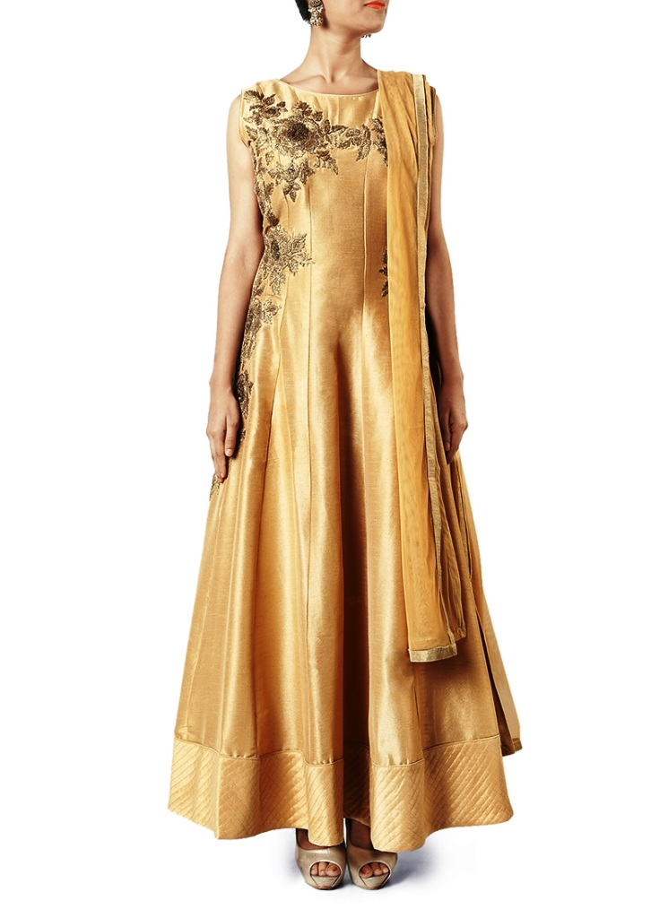 New party wear long dresses 2018