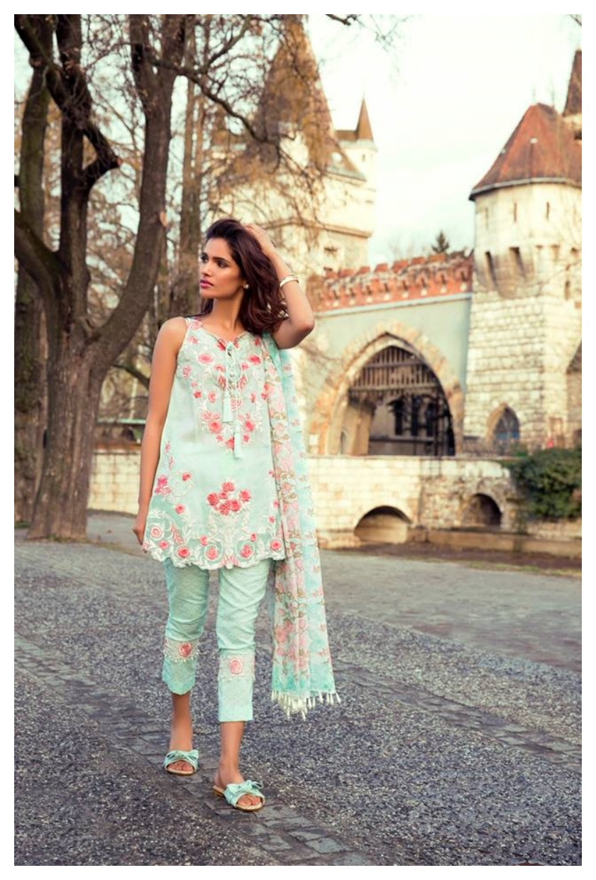 Mina Hasan Lawn Summer Collection 2017 by Shariq