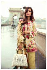 Mina Hasan Lawn myriad Collection 2017 by Shariq Textiles