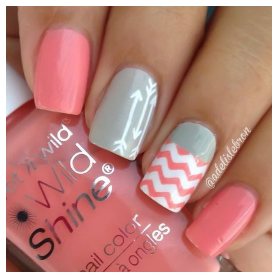 Easy Nail Art Designs To Do At Home Step By Step