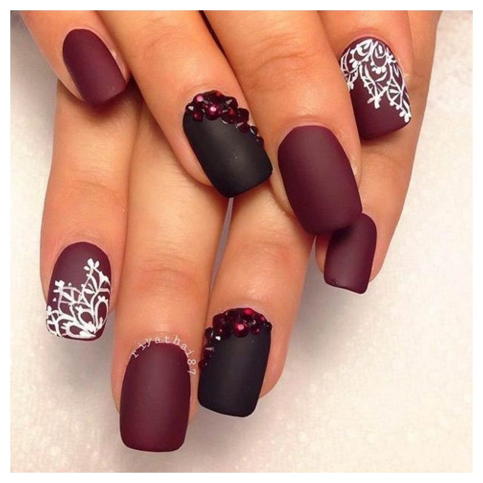 Simple Nail Art Designs Pics