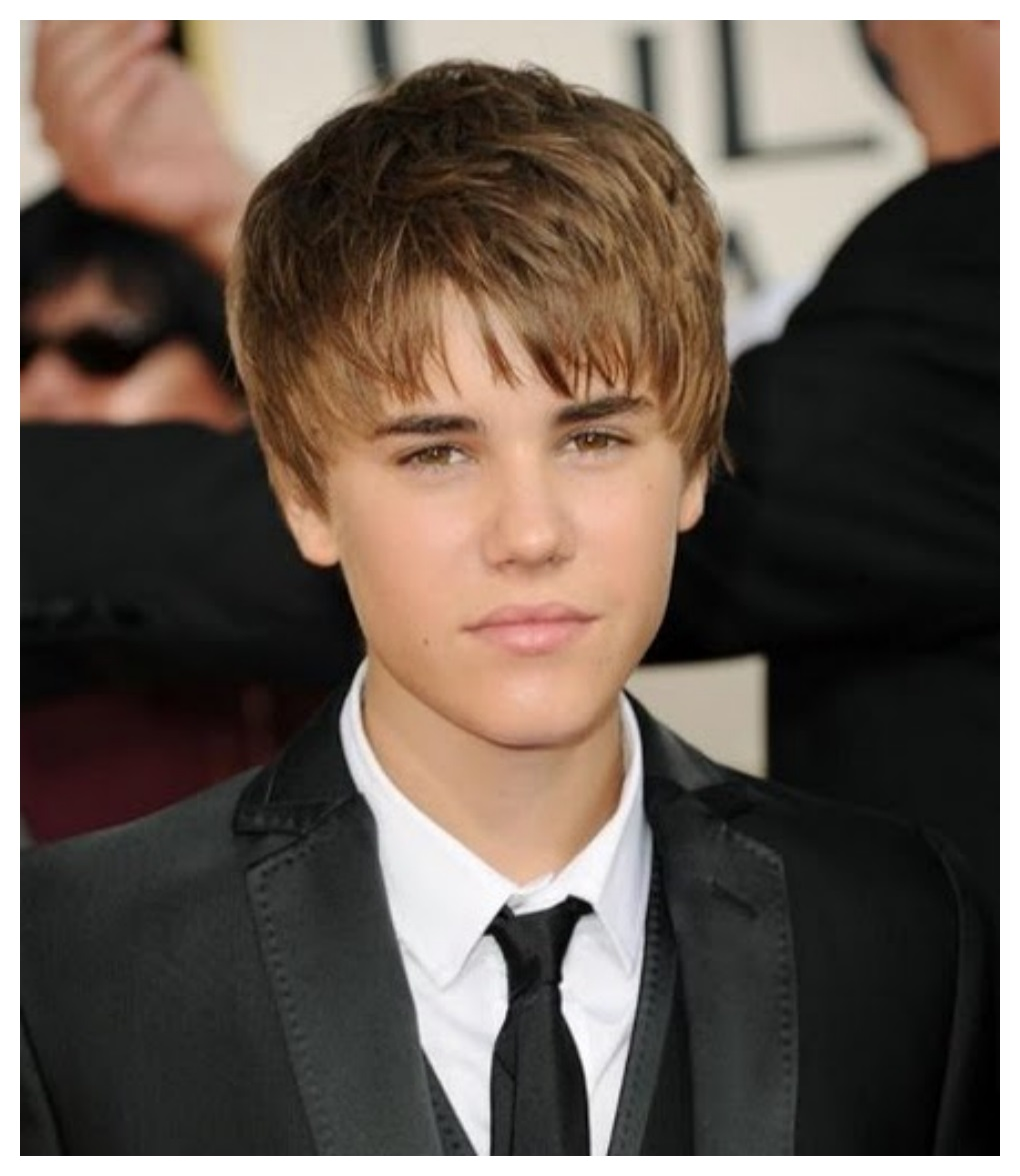 Simple style of Justin Bieber Hairstyle free