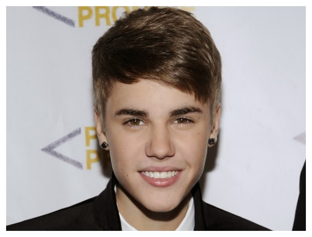 Beatiful Justin Bieber Hairstyle