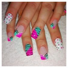 Spring Nails Designs 2019 having fun with Colors