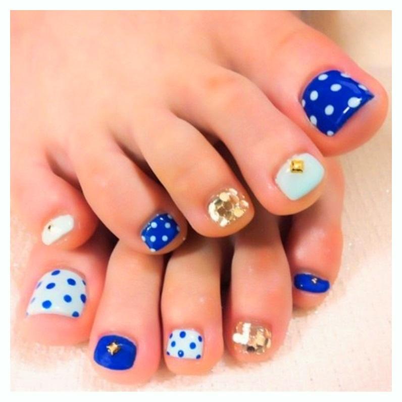 Pedicure Toe Nail Designs