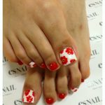 Purple Crystal Toe Nail Designs free download